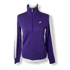 NWT women's Sz Small Nike sportswear track jacket
